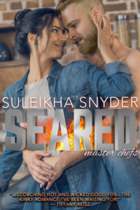 Cover Art for Seared by Suleikha Snyder