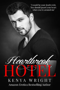 Cover Art for Heartbreak Hotel by Kenya Wright