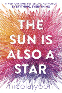 Cover Art for The Sun is Also a Star by Nicola Yoon