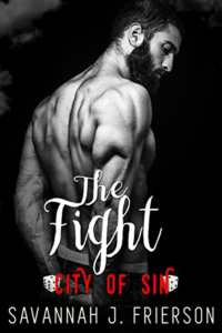 Cover Art for The Fight: City of Sin by Savannah J. Frierson