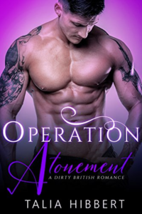 Cover Art for Operation Atonement: A BWWM Romance by Talia Hibbert