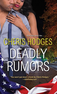 Cover Art for Deadly Rumors by Cheris Hodges