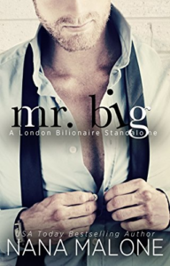 Cover Art for Mr. Big (London Billionaire Book 2) by Nana Malone