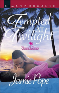 Cover Art for Tempted at Twilight (Tropical Destiny) by Jamie Pope