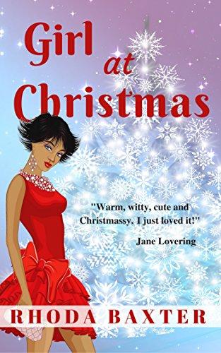 Cover Art for Girl At Christmas: A heartwarming Christmas holiday novella (Smart Girls Book 4) by Rhoda Baxter