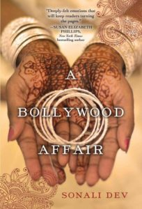Cover Art for A Bollywood Affair by Sonali Dev