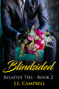 Cover Art for Blindsided by J.L. Campbell