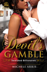 Cover Art for Devil's Gamble by Michele Arris