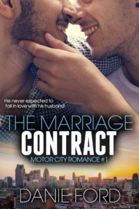 Cover Art for The Marriage Contract by Danie Ford