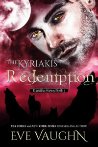 Cover Art for The Kyriakis Redemption by Eve Vaughn