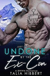 Cover Art for Undone by the Ex-Con by Talia Hibbert