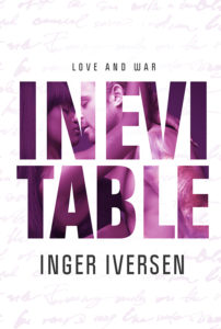 Cover Art for Inevitable: Love and War by Inger Iversen