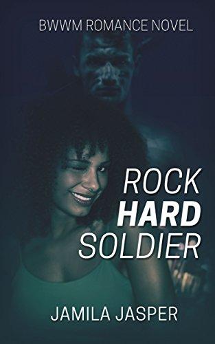 Cover Art for Rock Hard Soldier: BWWM Military Romance by Jamila Jasper
