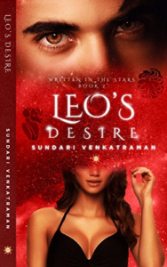 Cover Art for Leo's Desire (Written in the Stars Book 2) by Sundari Venkatraman