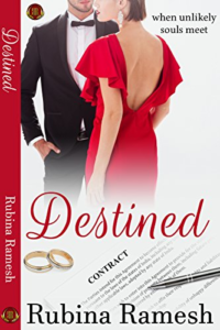 Cover Art for Destined by Rubina Ramesh