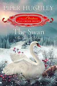 Cover Art for The Swan: The Seventh Day: The 12 Days of Christmas Mail Order Brides Book 7 by Piper Huguley