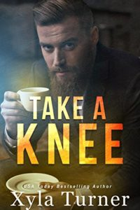 Cover Art for TAKE A KNEE by Xyla Turner