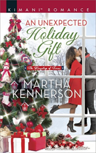 Cover Art for An Unexpected Holiday Gift (The Kingsleys of Texas) by Martha Kennerson