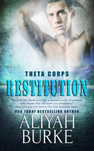 Cover Art for Restitution (Theta Corps Book 1) by Aliyah Burke