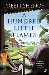 Cover Art for A Hundred Little Flames by Preeti Shenoy
