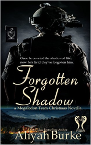 Cover Art for Forgotten Shadow: A Megalodon Team Holiday Novella by Aliyah Burke