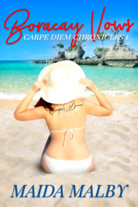 Cover Art for Boracay Vows by Maida Malby