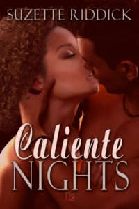 Cover Art for Caliente Nights by Suzette Riddick