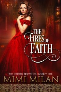 Cover Art for The Fires of Faith by Mimi Milan