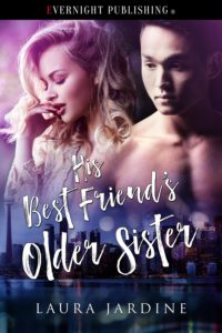 Cover Art for His Best Friend's Older Sister by Laura Jardine