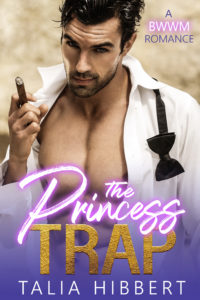 Cover Art for The Princess Trap by Talia Hibbert
