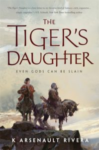 Cover Art for The Tiger's Daughter by K Arsenault Rivera