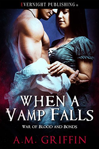 Cover Art for When A Vamp Falls by A.M. Griffin