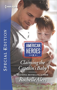 Cover Art for Claiming the Captain's Baby (American Heroes) by Rochelle Alers