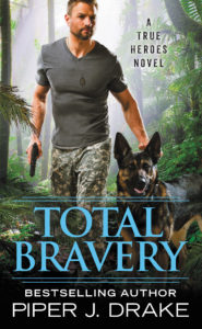 Cover Art for Total Bravery by Piper Drake