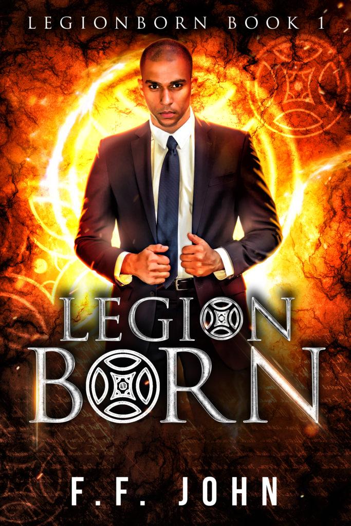 Cover Art for LegionBorn by F. F. John