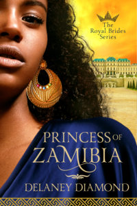 Cover Art for Princess of Zamibia by Delaney Diamond