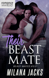 Cover Art for Their Beast Mate by Milana Jacks