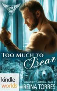 Cover Art for Too Much To Bear by Reina Torres