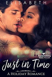 Cover Art for Just in Time: A Holiday Romance by Elisabeth