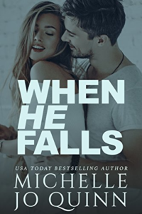 Cover Art for When He Falls by Michelle Jo Quinn