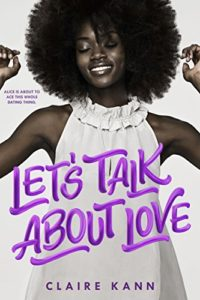 Cover Art for Let's Talk About Love by Claire Kann