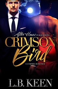 Cover Art for Crimson Bird by L. B. Keen