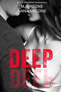 Cover Art for Deep (The Deep Duet Book 1) by M. Malone Nana Malone