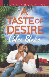 Cover Art for A Taste of Desire by Chloe Blake