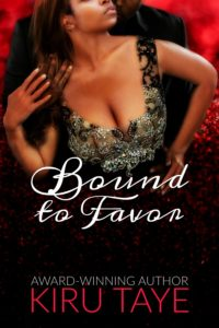 Cover Art for Bound to Favor by Kiru Taye