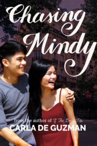 Cover Art for Chasing Mindy by Carla De Guzman