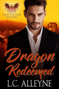 Cover Art for Dragon Redeemed (Lords of Lysuhóll Book 2) by L.C. Alleyne