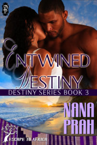 Cover Art for Entwined Destiny by Nana Prah