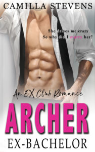 Cover Art for Archer: Ex-Bachelor by Camilla Stevens