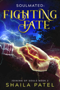 Cover Art for Fighting Fate by Shaila Patel
